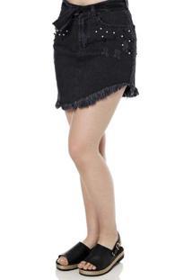 a74b2a635d Saia E Mini Saia Fashion Perola feminina