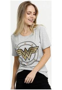 Blusa Feminina Mulher Maravilha Liga Da Justiça