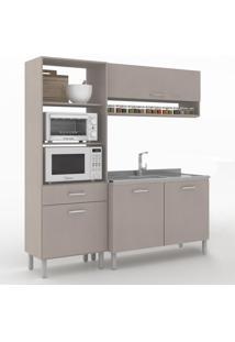 Cozinha Compacta Uccelli 4 Portas 1 Gaveta 600070 Moon - Vedere
