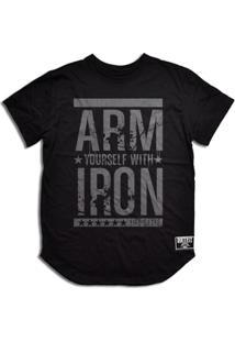 Camiseta Arm Iron - Masculino