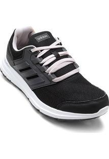 Tênis Adidas Galaxy 4 Feminino - Feminino-Preto+Cinza