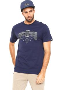 Camiseta Mcd Regular Recognize Azul