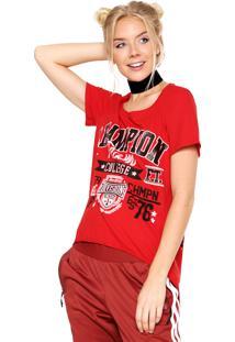 Camiseta My Favorite Thing(S) Mullet Vermelha