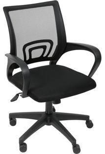 Cadeira De Escritã³Rio Tok- Preta- 99X49X46Cm- Oror Design