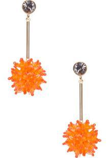 Brinco Beads Metal Animale - Dourado