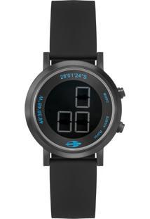 Relógio Mormaii Slim Surf Preto Mo11929Aa2P