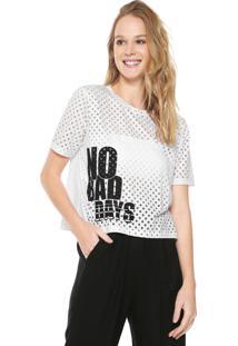 Camiseta Dzarm Poás Branca