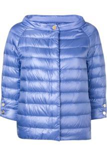 Herno Three-Quarter Sleeve Jacket - Roxo