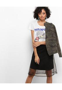 Camiseta Drezzup Botonê World Tour Feminina - Feminino