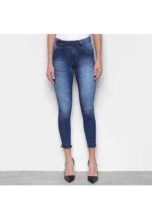 Calça Jeans Skinny Biotipo Midi Feminina - Feminino