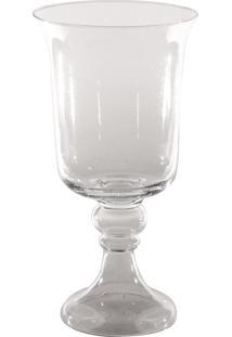Vaso Bianco E Nero 46X23Cm Transparente