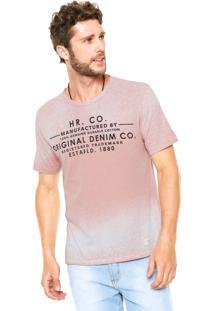 Camiseta Hering Acid Rosa