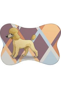 Tapete Pet Mdecore Poodle Colorido 46X33Cm