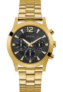 Relógio Guess Feminino Aço Dourado - W1295L2