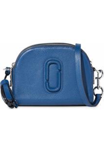Marc Jacobs Bolsa Transversal Shutter - Azul