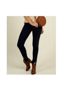 Calça Skinny Feminina Bolsos Zune Jeans