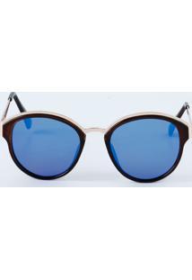 Óculos Feminino De Sol Espelhado Marisa