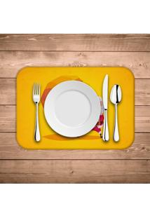 Jogo Americano Wevans Cute Noel Yellow Kit Com 6 Pã§S - Multicolorido - Dafiti