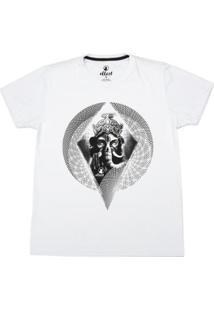 Camiseta Ellest - Masculino-Branco