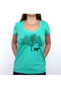 Vacagando - Camiseta Clássica Feminina