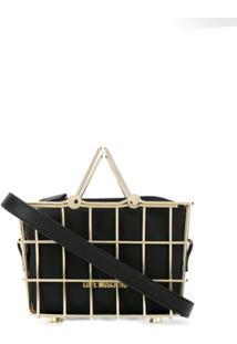 Love Moschino Basket Tote Bag - Preto