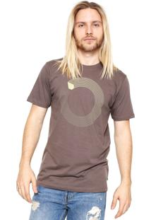 Camiseta Volcom Revo Marrom