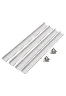 Kit De Instalação Para Lixeira Tramontina 94532205 Alumínio