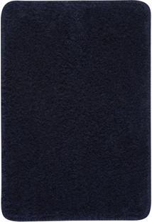 Tapete Para Banheiro- Azul Marinho- 60X45Cm- Oasoasis
