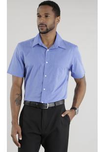Camisa Comfort Azul Marinho