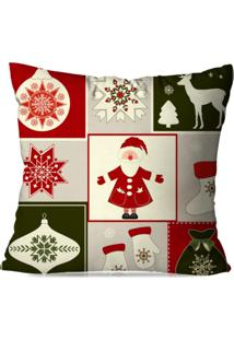 Capa De Almofada Love Decor Avulsa Decorativa Classic Natal