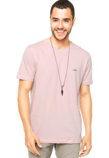 Camiseta Redley Coqueiro Rosa