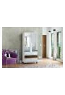 Sapateira Requinte Rv Com Espelho - Branco
