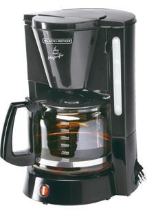 Cafeteira Elétrica 1000W 110V Magnific 36 Xícaras Preta