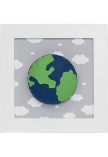 Quadro Decorativo Planeta Quarto Bebê Infantil Menina Menino