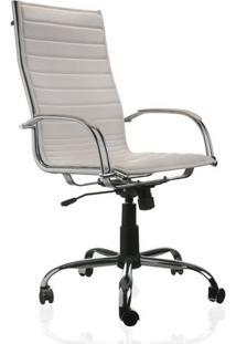 Cadeira Presidente New Branco Etna