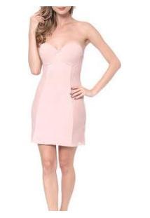 Body Vestido Modelador Beauty Com Tule Morisco (6594)