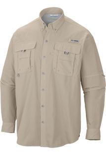 Camisa Bahama Ii Caqui Fm7048 - Columbia