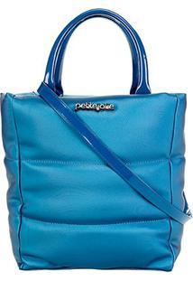 Bolsa Petite Jolie Amelia Bag Feminina - Feminino-Azul