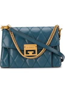 Givenchy Quilted Shoulder Bag - Azul