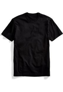 Camiseta Part. B Básica T-Shirt Algodão - Masculino-Preto