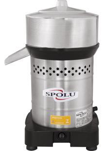 Espremedor De Frutas Grande Spolu Spl-006 Inox 350W Bivolt