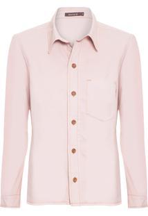 Camisa Feminina Sarja Aurea - Rosa