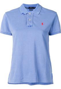 Polo Ralph Lauren Camisa Polo Com Logo Bordado - Azul bb6262ee267