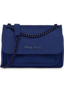 Miu Miu Bolsa Tiracolo - Azul