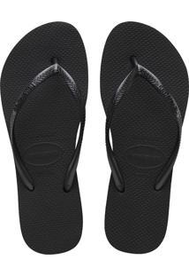 Sandálias Havaianas Slim Flatform Preto