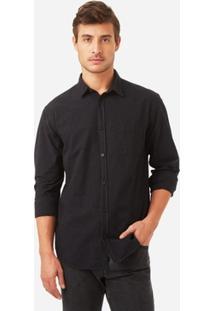 Camisa Foxton Ml Black Hole Masculina - Masculino
