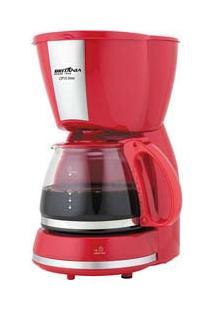 Cafeteira Eletrica Cp15 Inox Vermelha 127V - Britânia