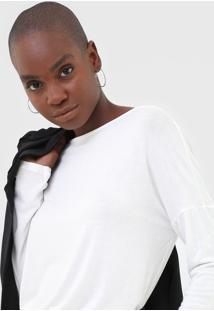 Blusa Calvin Klein Off-White