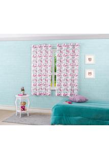 Cortina Pratika Blackout Colorê Slim Cute L2,60M X A1,70M (Para Var.