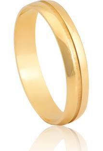 Aliança De Casamento Em Ouro 18K 3,7Mm
